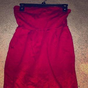 XS Express red mini dress